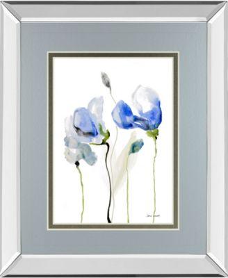 """All Poppies II by Lanie Loreth Mirror Framed Print Wall Art, 34"""" x 40"""""""