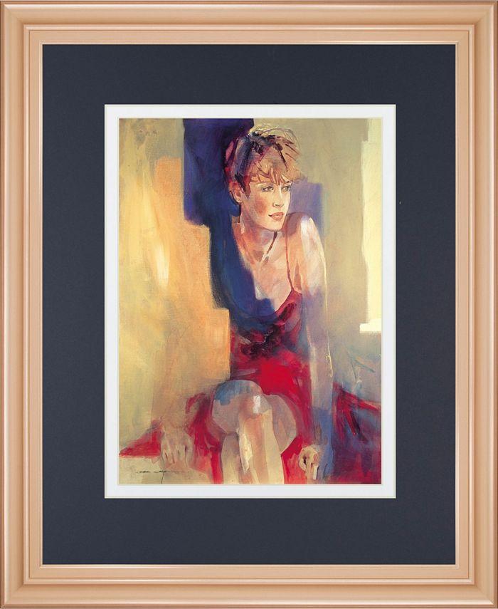 Classy Art Odalisque L By Christine Comyn Framed Print Wall Art 34 X 40 Reviews All Wall Décor Home Decor Macy S