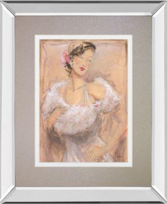 "Stole My Heart II by Dupre Mirror Framed Print Wall Art, 34"" x 40"""