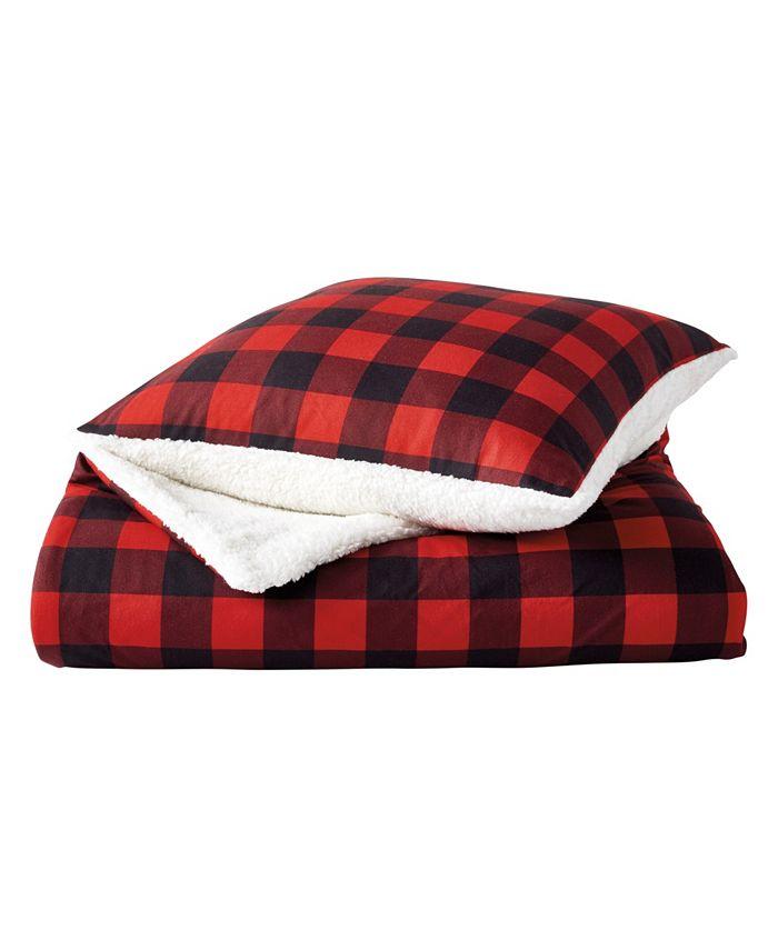 G.H. Bass & Co. - G.H. Bass Buffalo Check 2 Pack Throw And Pillow