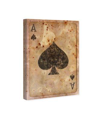Ace of Spades Canvas Art, 24