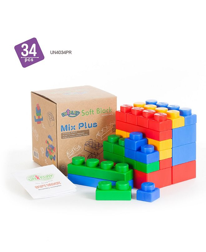 UNiPLAY 16 Single and 6 Plump and 12 Basic Mix Plus Series 34 Piece Set