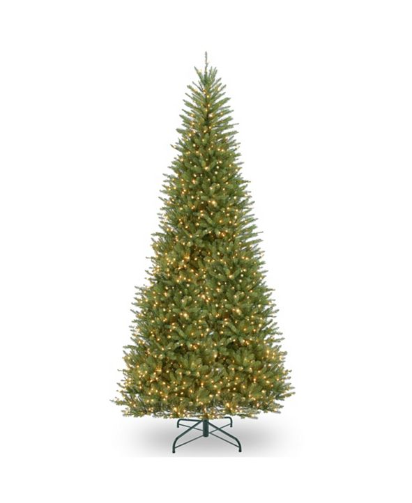 National Tree Company 14 ft. Dunhill® Fir Slim Tree with Clear Lights