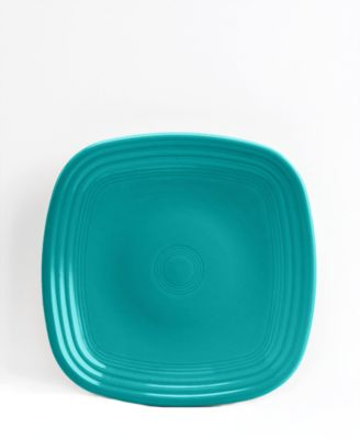 Fiesta Turquoise Square Salad Plate