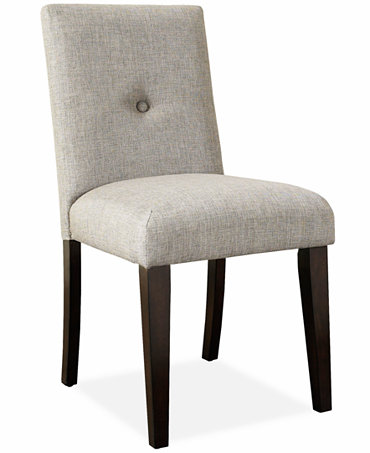 Addison dining room chair button tufted furniture macy39s for Macys dining room chairs