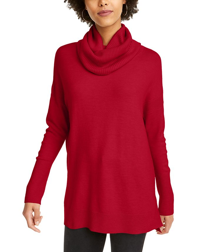French Connection - Turtleneck Tunic Sweater