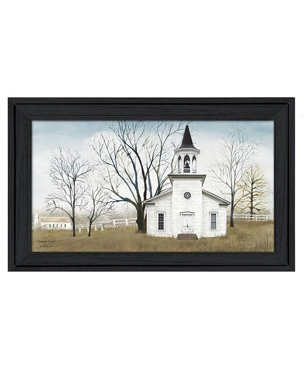 "Trendy Decor 4U Amazing Grace By Billy Jacobs, Printed Wall Art, Ready to hang, Black Frame, 33"" x 19"""