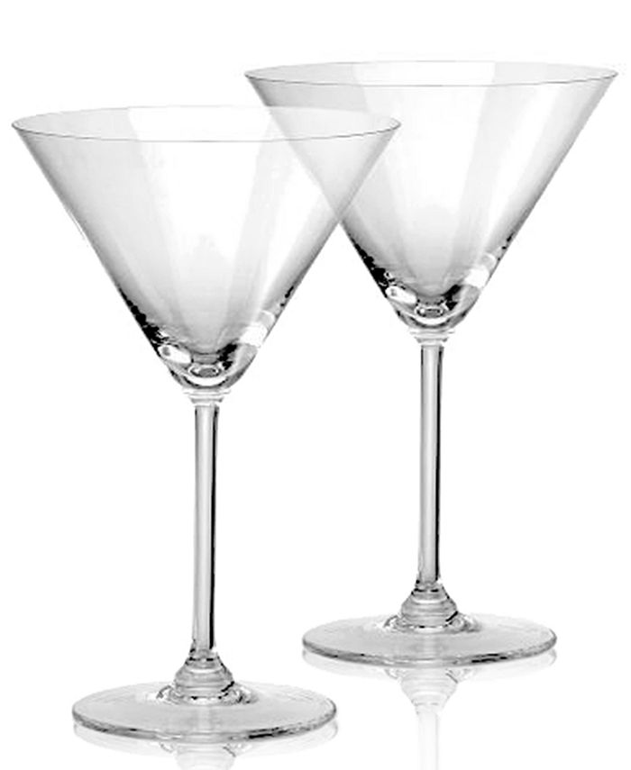 """Marquis by Waterford - """"Vintage"""" Oversized Martini Pair"""