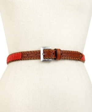 Steve Madden Belt Beaded Whipstitch