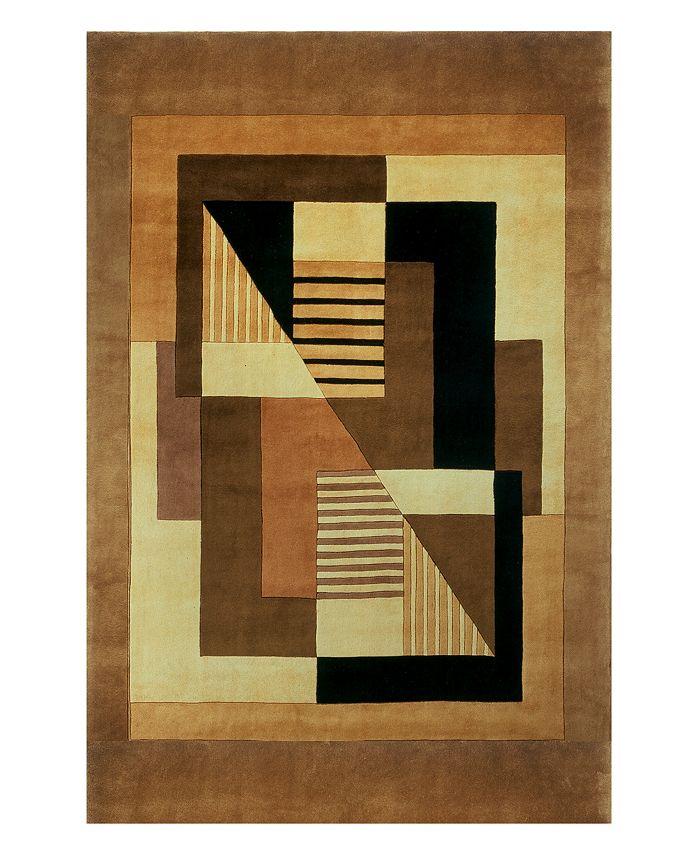 Momeni - Area Rug, Perspective Camacho Gold 2' x 3'