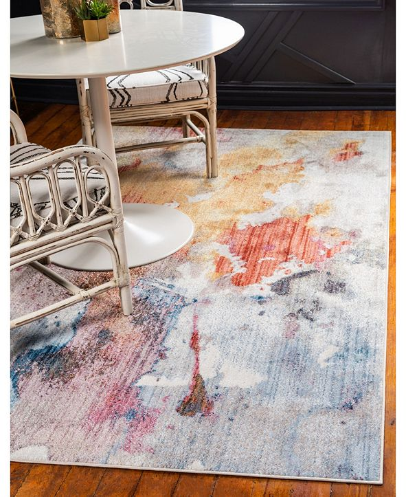 Jill Zarin West Village Downtown Jzd002 Multi 9' x 12' Area Rug