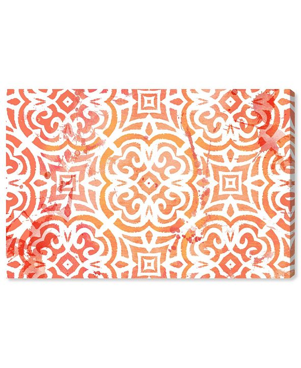"""Oliver Gal Peachy Afternoon Canvas Art, 36"""" x 24"""""""
