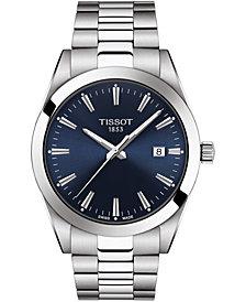 Tissot Men's Swiss T-Classic Gentleman Stainless Steel Bracelet Watch 40mm