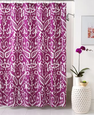 Trina Turk Bath, Ikat Shower Curtain