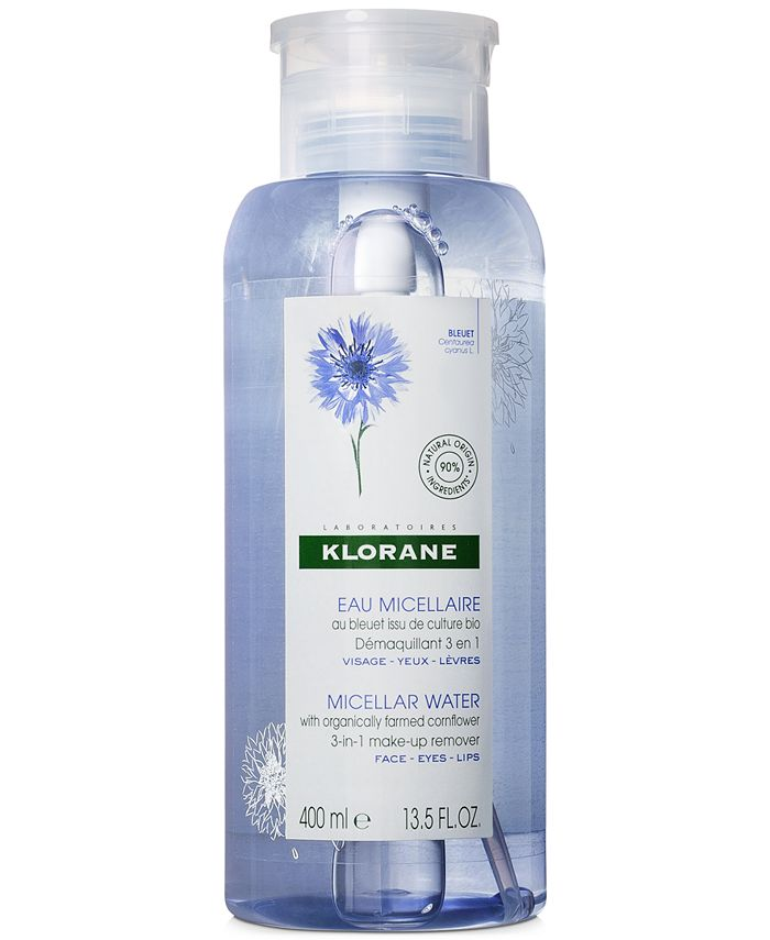Klorane - Micellar Water With Organically Farmed Cornflower, 13.5-oz.
