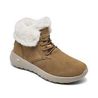 Skechers Women's On The Go Joy Lush Winter Boots (Chestnut)