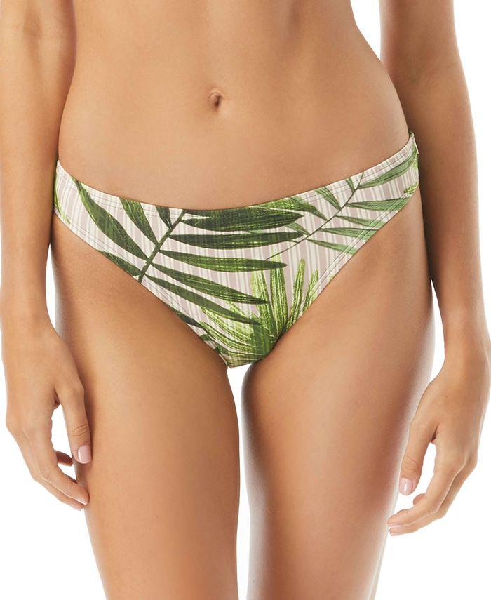 Vince Camuto - Tropical Palm Printed Classic Bikini Bottoms