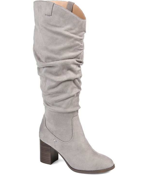 Journee Collection Women's Extra Wide Calf Aneil Boot