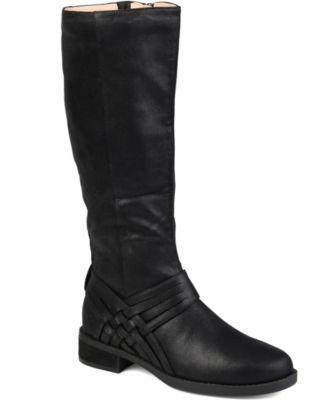 vegan wide calf boots