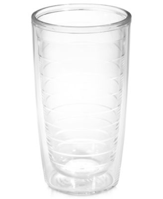 Tervis Tumbler Drinkware, Clear 16 oz. Tumbler