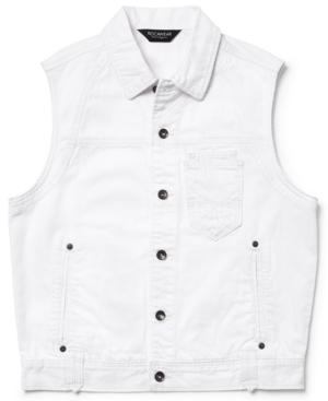 Rocawear Vest Navigator Denim White Wash Vest