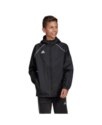 adidas Big Boys Core 18 Rain Jacket