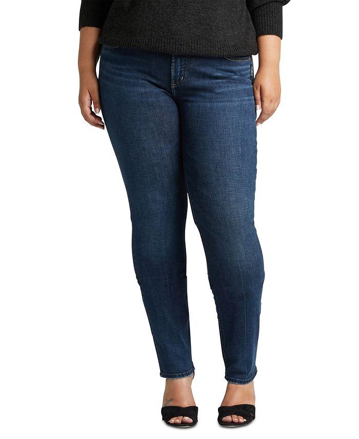 Silver Jeans Co. - Trendy Plus Size Elyse Skinny Jeans