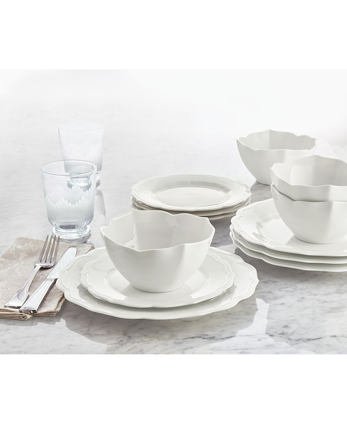 Hotel Collection - Classic Baroque 12-Pc. Dinnerware Set, Service for 4