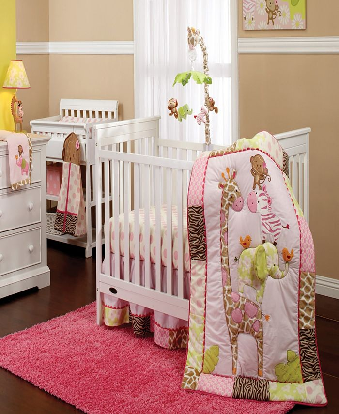Carter's - Jungle Collection 7-Piece Crib Bedding Set