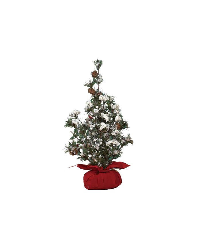 Trans Pac Small Tree in Gift Bag w/Berries & Reviews - Holiday Shop - Home - Macy's
