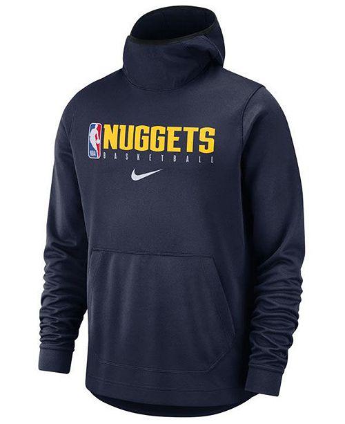 Nike Men's Denver Nuggets Spotlight Pullover Hoodie ...