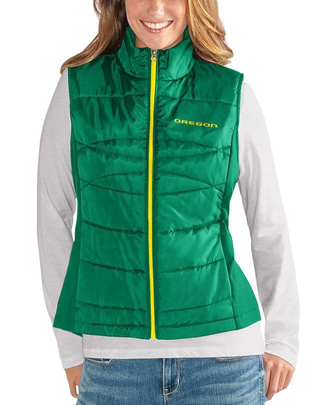 G-III Sports Women's Oregon Ducks Puffer Vest
