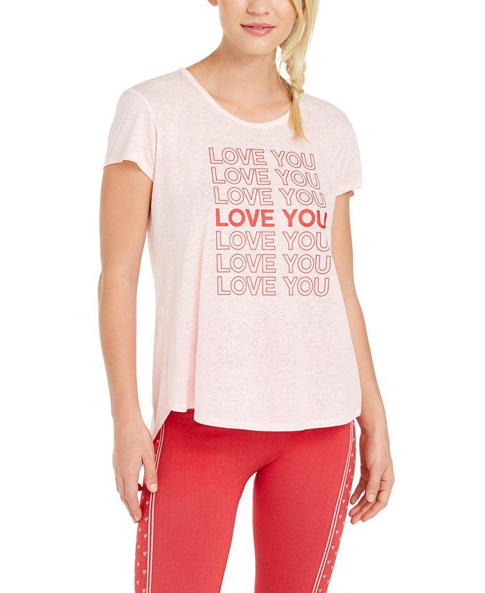 Ideology - Love Graphic Split-Back T-Shirt