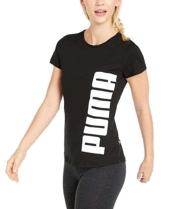 Puma - Cotton Rebel Logo T-Shirt