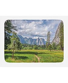 Ambesonne Yosemite Bath Mat