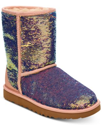 Classic Short Cosmos Sequin Boots