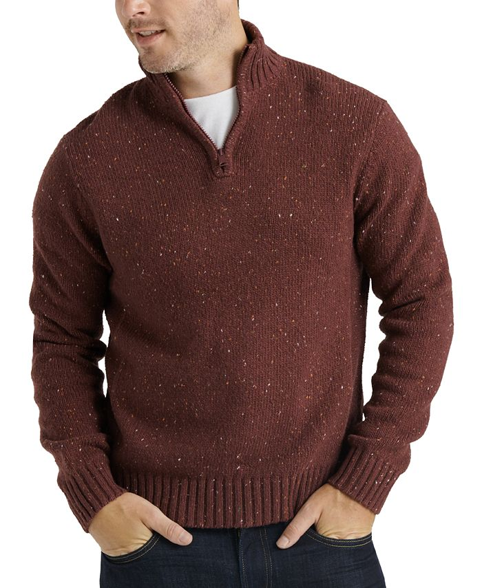 Lucky Brand - Men's Quarter-Zip Sweater