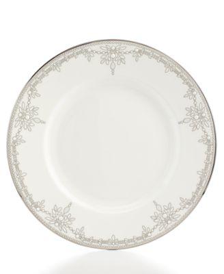 Marchesa by Lenox Dinnerware, Empire Pearl Dinner Plate