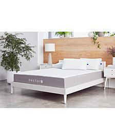 """The Nectar 11"""" Memory Foam Mattress- Twin XL + 2 Pillows"""