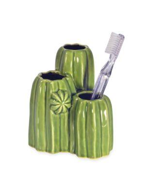 Cactus Toothbrush Holder