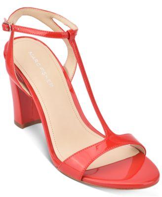 Marc Fisher Toria T-Strap Sandals