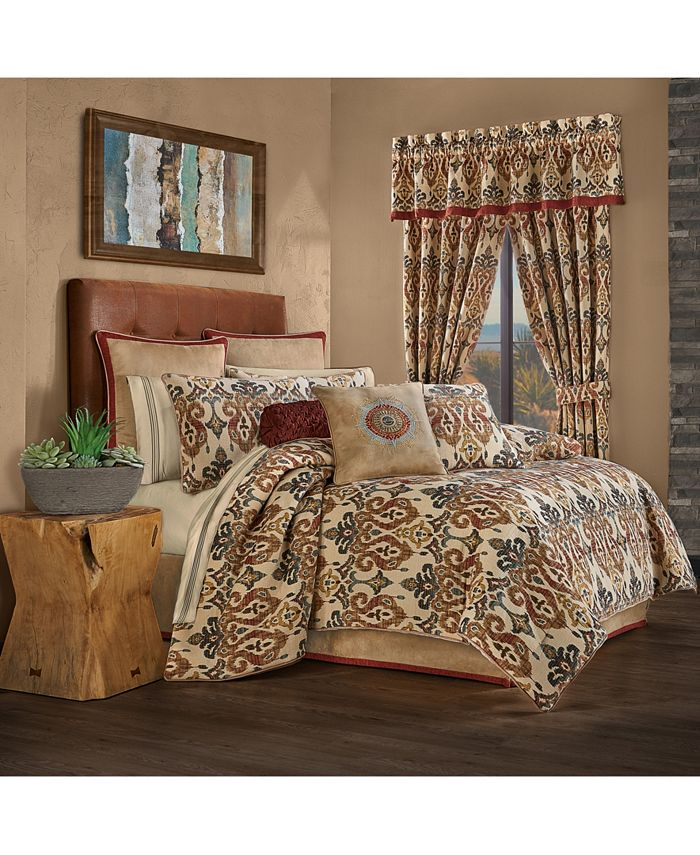 J Queen New York - Jqueen Tucson California King 4 Piece Comforter Set