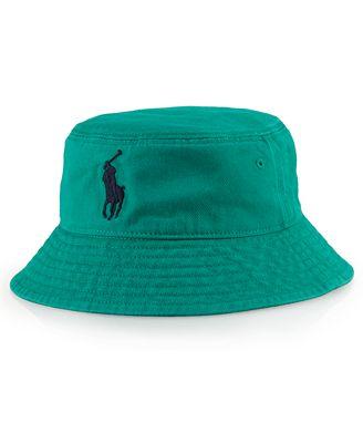 Ralph Lauren Baby Hat, Baby Boys Bucket Hat - Kids - Macy's