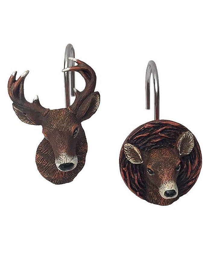 Laural Home - Deer Time Shower Curtain Hooks