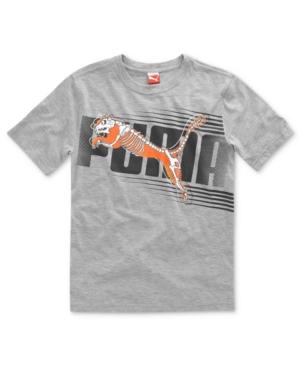 Puma Kids TShirt Boys Skeletal Tee