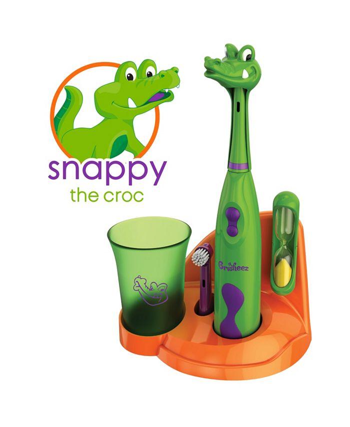 Brusheez - Kids Electic Toothbrush Crocodile Set