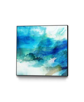 """20"""" x 20"""" Ephemeral I Art Block Framed Canvas"""