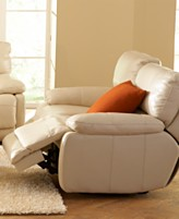 Miraculous Nina Leather Sofa Living Room Furniture Collection Power Pdpeps Interior Chair Design Pdpepsorg