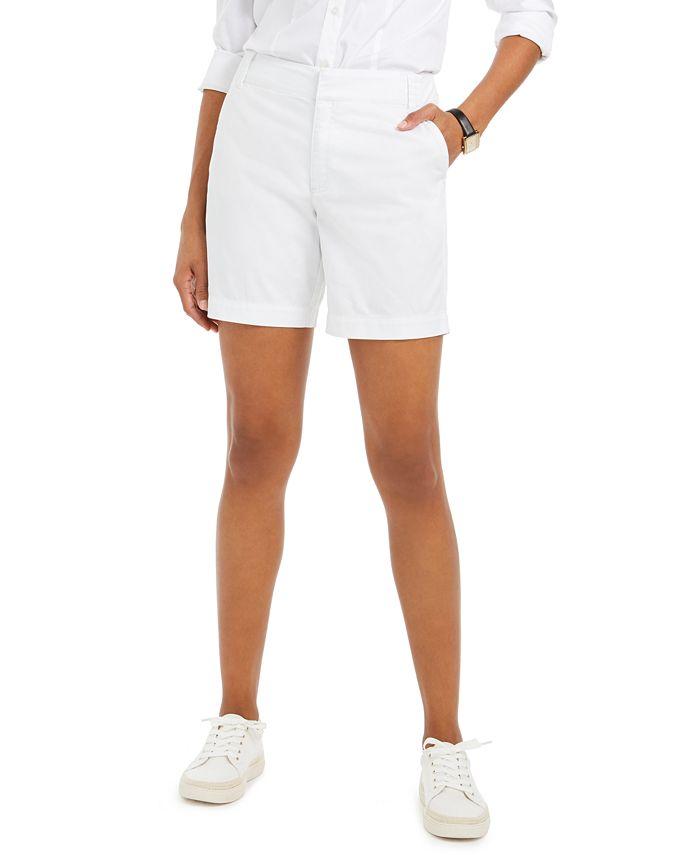 Charter Club - Twill Casual Shorts