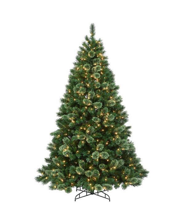 National Tree Company 7.5 ft. Hamburg Pine Tree with Clear Lights